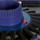 tubos L-Beader rotor 24 amostras zoom